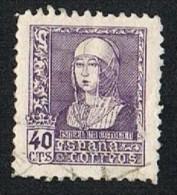 Ed. 858 Isabel II 40 Cts. Usado - 1931-50 Usados