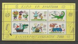 NEDERLAND, 2000, MNH Stamps/block ,Children Welfare , NVPH Nr. 1930 , #7504 - Blocks & Sheetlets