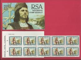 REPUBLIC OF SOUTH AFRICA , 1988, MNH Stamps/booklet, Flood Disaster Natal , MI Nr. 662  , F3798 - Boekjes