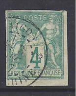 Colonies Générales  N°25  Oblitéré  Cachet De Saïgon - Sage