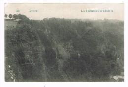 CPA N&b Dinant - 1910 - Les Rochers De La Citadelle - Dinant