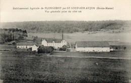 52   Etablissement  Agricole De PLONGEROT  Par St LOUP Sur AUJON   Vue Générale Prise Du Côté Est - Andere Gemeenten