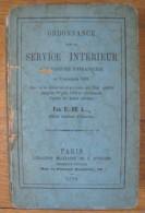 Ordonnance Sur Le Service Intérieur Des Troupes D´infanterie . - Libri