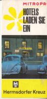 Mitropa - Hotels Laden Sie Ein - Hermsdorfer Kreuz - Obj. 'Souvenir De'