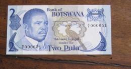 Billet : Two Pula, Botswana - Botswana
