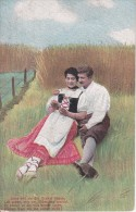 AK Das Orakel - Liebespaar (8541) - Paare