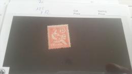 LOT 221201 TIMBRE DE FRANCE NEUF* N�125 VALEUR 12 EUROS