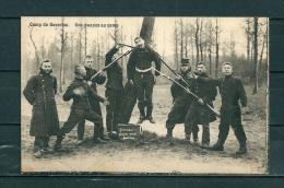 BEVERLOO: Une Zwanze Au Camp,  Gelopen Postkaart 1910 (GA15617) - België