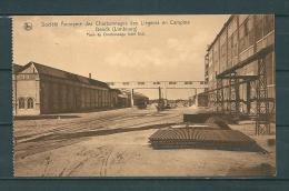 GENCK: Societ� Anonyme Des Charbonnages Des Li�geois En Campine, niet gelopen postkaart (GA15658)