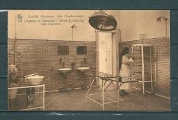 GENCK: Societ� Anonyme Des Charbonnages Des Li�geois En Campine, niet gelopen postkaart (GA15659)