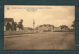GENCK: Societ� Anonyme Des Charbonnages Des Li�geois En Campine, niet gelopen postkaart (GA15660)