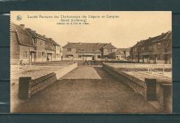 GENCK: Societ� Anonyme Des Charbonnages Des Li�geois En Campine, niet gelopen postkaart (GA15662)
