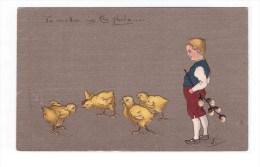 CHICKS Post Card Very Fine Mint - Breeding