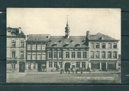 BRAINE-LE-COMTE: Hotel De Ville Restauré,  Gelopen Postkaart 1911 (GA15953) - Braine-le-Comte