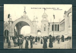 CHARLEROI: Facade Principale, Niet Gelopen Postkaart (GA15995) - Charleroi