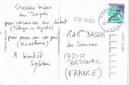 10264. Postal Aerea KYOTO (Japon) 2000. Landscape - Cartas