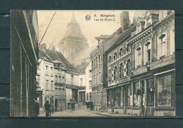 SOIGNIES: Rue De Mons, Niet Gelopen Postkaart (GA16349) - Soignies