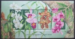 AUSTRALIA 1998 Orchids Miniature Sheet MNH - Ongebruikt