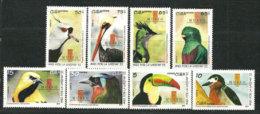 CUBA.  Oiseaux De Cuba.   8   T-p Neufs **.  Année 2011 - Neufs