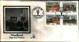 NAMIBIA, 1990, Mint FDC 1.2, Windhoek, Stampnrs. MI 675-678 - Namibia (1990- ...)