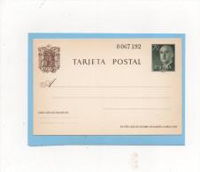 Tarjeta Postal Franco 1962 , 70cts , No Usadas - 1931-....