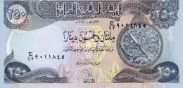 Irak P91b - 250 dinars de 2012 sign� S.Al-Shabibi - aunc (BNB CBI B47b)