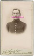 CDV Identifiée-soldat Bellissant - 39e Régiment-photo Fouré Rue Du Chant Des Oiseaux à Rouen - War, Military