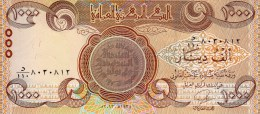 Irak P93b - 1000 dinars de 2013 sign� AB Turki Saeed - aunc (BNB CBI B49c)