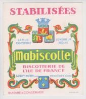 BUVARD -  BISCOTTES MABISCOTTE - MITRY MORY - - Biscottes