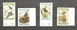 Serie Nº 535/8 British Virgin Sin Dentar. - Birds