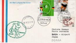 Mondial 2002 - Vol Francfort Osaka équipe Allemande - Lufthansa 22/05/02 - Fußball-Weltmeisterschaft