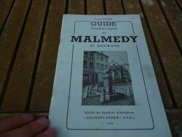 CB3 Ancien Document Touristique Malmedy Et Environs - Tourisme