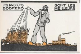 PUBLICITE - Les Produits BODRERO Sont Les Meilleurs - Werbepostkarten