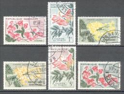 Gabun 1961 - Michel 160 - 165 O - Gabun (1960-...)