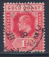 Gold Coast, Scott # 57 Used King Edward Vll, 1907 - Côte D'Or (...-1957)