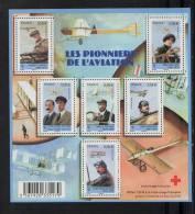FRANCE 2010 Croix Rouge 1 Bloc De 6 (6) YT N° F4504** Pionniers De L´Aviation Latham Wright Farman Védrines Delagrange - Ungebraucht