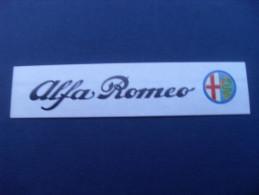 ADESIVO PUBBLICITARIO VINTAGE ALFA ROMEO FORMATO PICCOLO - Stickers