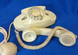 Telefono A Disco FACE STANDARD Colore Panna Anni'60 Vintage - Non Classificati