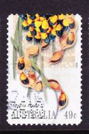 2002. AUSTRALIAN DECIMAL. Flora. (Flowers - General). 50c. Bush Tucker - Acacia Seeds (Acacia Coriacea). P&S. FU. - 2000-09 Elizabeth II
