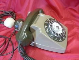 TELEFONO A DISCO FRANCESE - Altre Collezioni