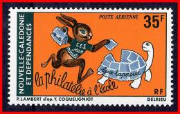 NEW CALEDONIA  1978 FABLE / FAIRY TALE SC#C145 MNH CV$5.00 ANIMALS, REPTILES, TURTLE - Nuovi