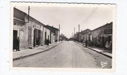 CPSM ALGERIE - MAC MAHON - Rue Principale - TB ANIMAITON - STATION SERVICE ESSO à Droite - Autres Villes