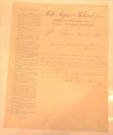 Motte, Paques Et Roland Frères - Carrière De Pierres Bleues - Scierie-Monuments Funéraires - Soignies - 1898 - 1800 – 1899
