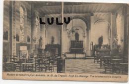 Belgique : Fayt Lez Manage , Maison De Retraites Pour Hommes Notre Dame Du Travail , Vue Interieure De La Chapelle - Manage