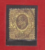 1902/1910 - Anniversaire De L Avenement D Eduard VII  Mi No 108 Et Yv No 111 - 1902-1951 (Re)
