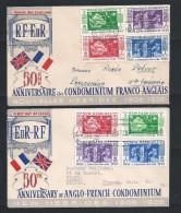 Nouvelles Hébrides-  2 Enveloppes FDC - N° 167 à 174 - FDC