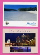 MAURICE 2 CARTES - Mauritius