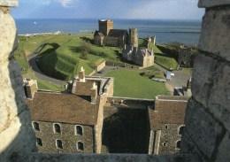 Postcard - Dover Castle, Church & Lighthouse, Kent. KA7175X - Dover
