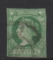 2 Cu. Verde; Edifil No.51; Michel Nr.43 , Usado - Usados