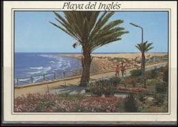 SPAIN Brief Postal History Post Card ES 100 Gran Canaria King - 1931-Hoy: 2ª República - ... Juan Carlos I